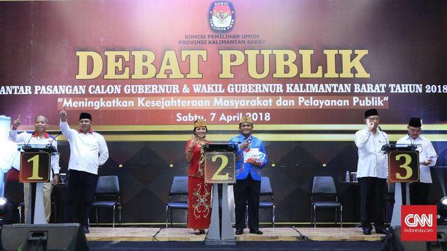 Pemekaran Kapuas Raya Mencuat di Debat Calon Pilgub Kalbar