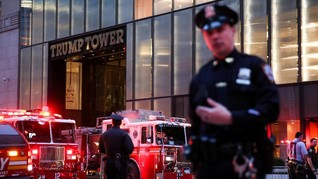 Ancam Ledakkan Trump Tower, Simpatisan Hamas di AS Ditahan