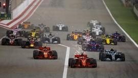 Vettel Menang Dramatis Atas Bottas di GP Bahrain