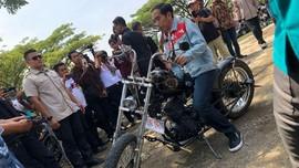 Viral Indonesia Terbelah, Pembuat Jaket Denim Jokowi Bersuara