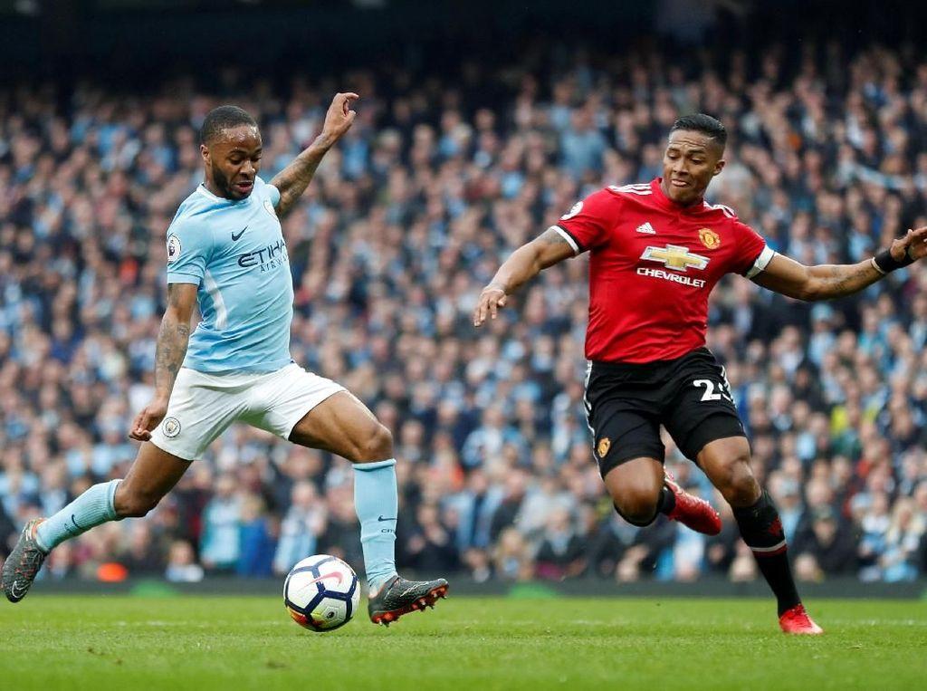 Ada 16 poin memisahkan City dengan Manchester United di posisi kedua saat ini. City berpeluang mendekati rekor selisih poin terbesar antara tim juara dan tim peringkat dua, yang sekarang dipegang MU dengan 18 poin. (Foto: Russell Cheyne/REUTERS)