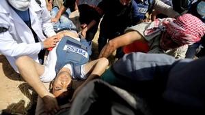 Lagi, Wartawan Palestina Tewas Ditembak Tentara Israel