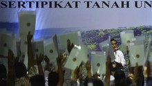 Jokowi Minta Masyarakat Tak Gadai Tanah untuk Beli TV