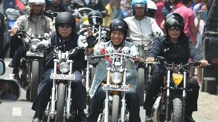 Tahun 2018 modifikasi motor dengan genre streetfighter lebih digemari.