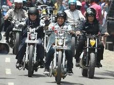 Jokowi Suka Motor Custom, Bisnis Modifikasi Motor Laris Manis