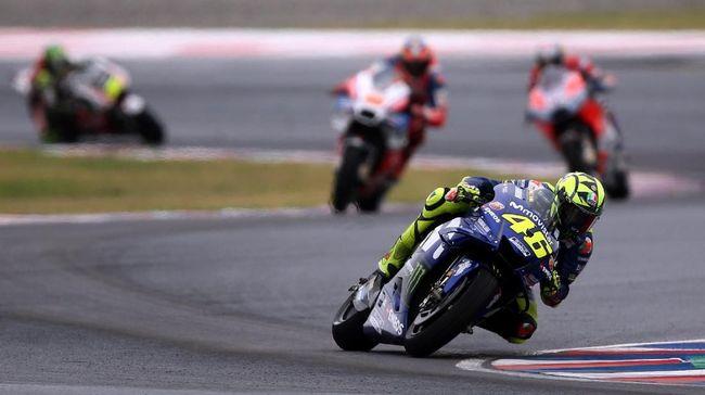 MotoGP Argentina: Seri Perseteruan Rossi vs Marquez Dimulai