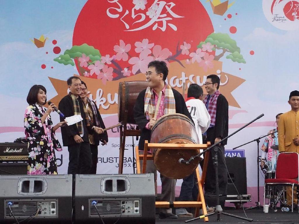 Festival Sakura Matsuri berlangsung dua hari berturut-turut pada 7-8 April 2018 di Citywalk Lippo Cikarang. Istimewa/Lippo Cikarang.