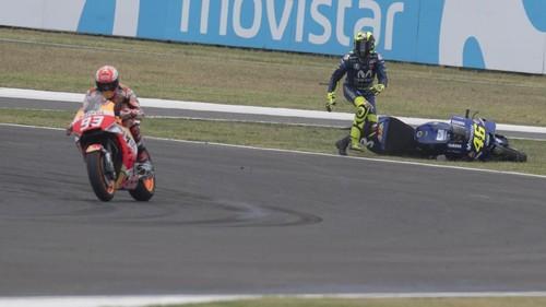 Panas: Marquez vs Rossi (Lagi)