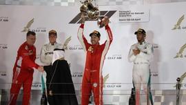 Klasemen F1 2018 Setelah Vettel Menang di GP Bahrain
