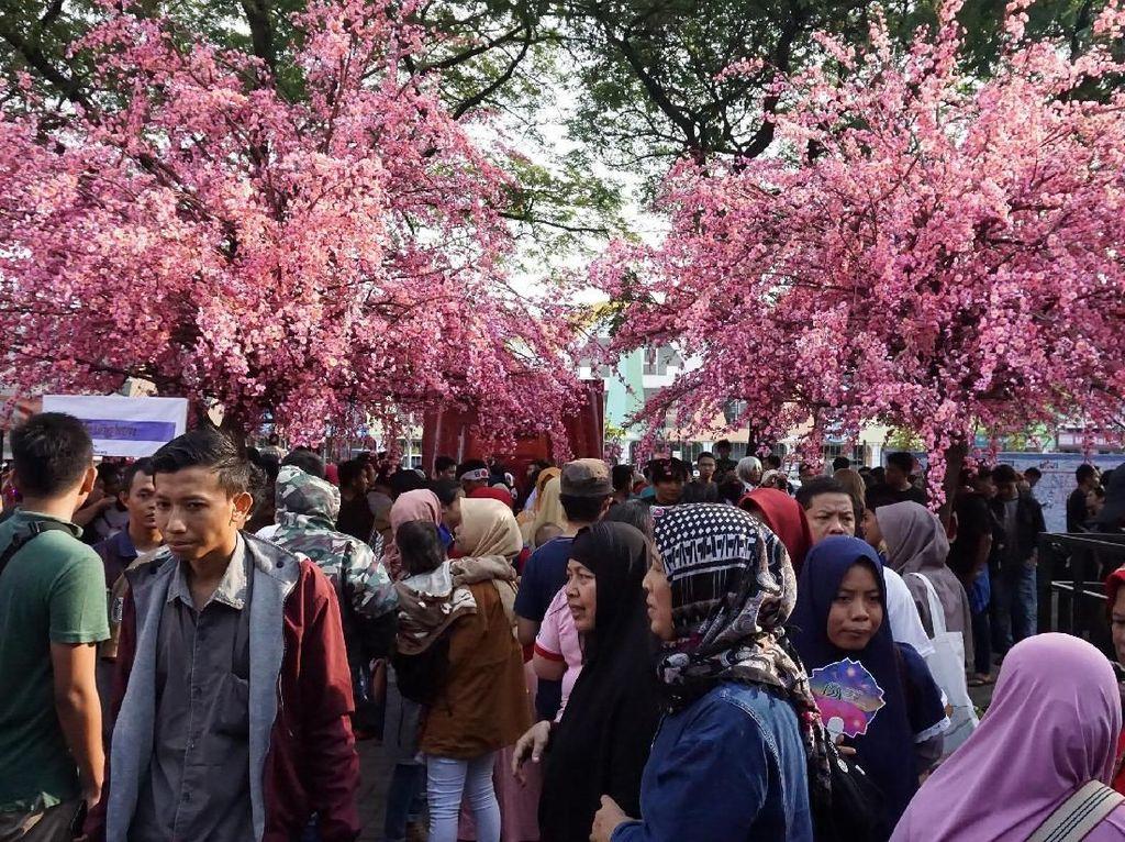 Suasana Festival Budaya Sakura Matsuri 2018. Istimewa/Lippo Cikarang.