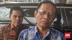 Mahfud MD Prediksi Jokowi Lawan Gatot di Pilpres 2019