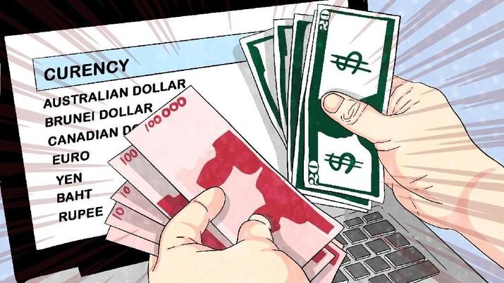 elain menguat di hadapan dolar AS, rupiah juga perkasa terhadap mata uang utama Asia dan Eropa.