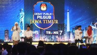 Debat Pemungkas Pilgub Jatim Soroti Tata Kelola Pemerintahan