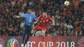 Ke Liga Champions, Persija Latihan di Lapangan Sintetis