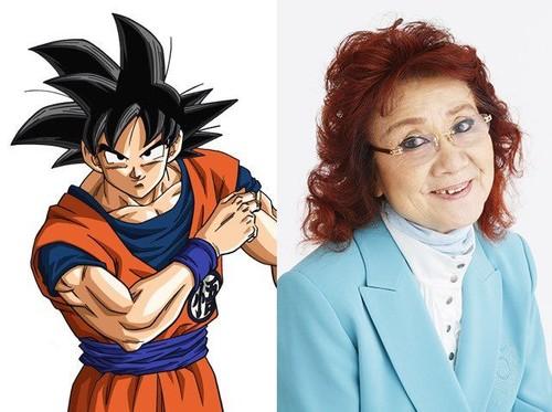 Nenek 81 Tahun Ini di Balik Suara Son Goku Dragon Ball