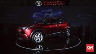 Toyota Ogah Sandingkan C-HR dengan HR-V cs