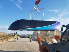 Elon Musk Bocorkan Uji Coba Kereta Ultra Cepat Hyperloop