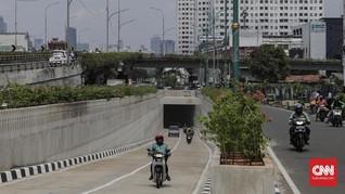 Sejumlah Pengendara Masih Bingung di Underpass Matraman