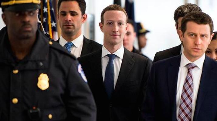CEO Facebook Mark Zuckenberg akan memberi penjelasan di hadapan Kongres AS hari Rabu (11/4/2018).