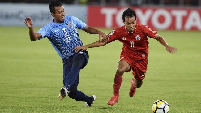 Novri Rayakan Gol Ala Messi untuk Suporter Persija