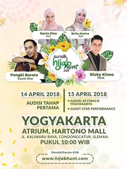 Hari Ini, Audisi Sunsilk Hijab Hunt 2018 Yogyakarta Masuki Tahap 2