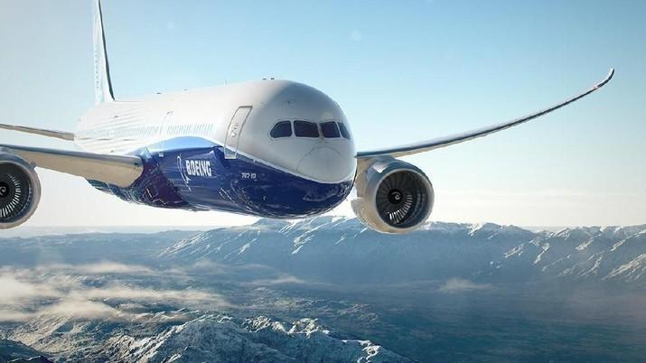 Pesawat Dreamliner ditargetkan dapat dikirim ke Lion pada 2019.