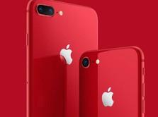 Apple Luncurkan iPhone 8 dan 8 Plus Anyar Berwarna Merah