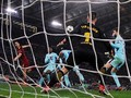 FOTO: AS Roma Menggila, Barcelona Merana di Liga Champions