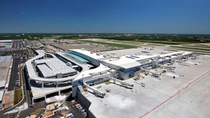 Hartsfield-Jackson Atlanta International Airport, bandara tersibuk di dunia.