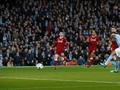 Manchester City Unggul atas Liverpool di Babak Pertama
