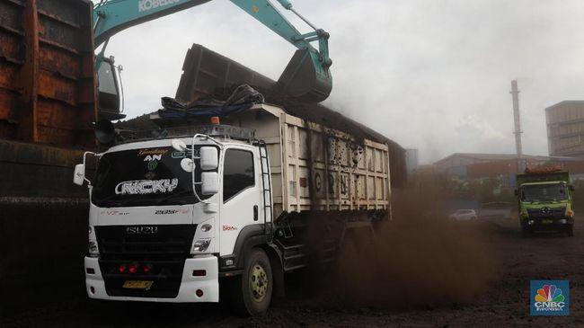 FOTO: Melihat Bongkar Muat Batu Bara di Pelabuhan Cilincing