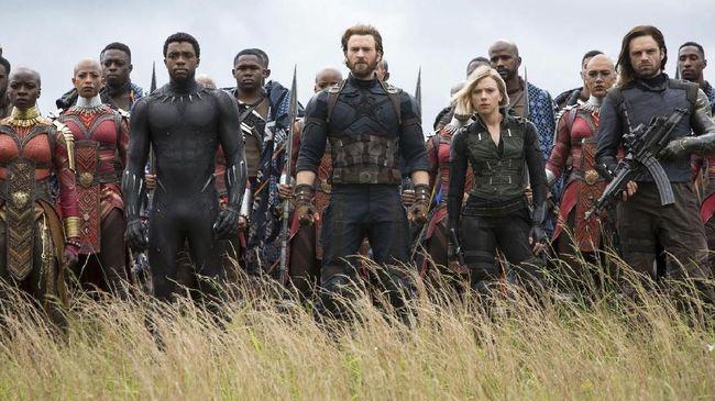 Belum Tayang, Tiket 'Infinity War' Sudah Pecahkan Rekor