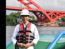 Hari Ini, Jokowi Resmikan Jembatan Terpanjang di Papua