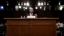 Kumpulan Pertanyaan Menggelitik Kongres AS untuk Bos Facebook