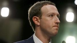 Kekayaan Bos Facebook Mark Zuckerberg 'Hilang' Rp217 Miliar
