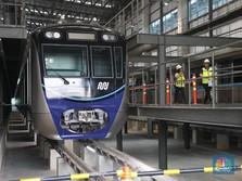 FOTO: Jakarta Sebentar Lagi Punya MRT, Ini Penampakannya
