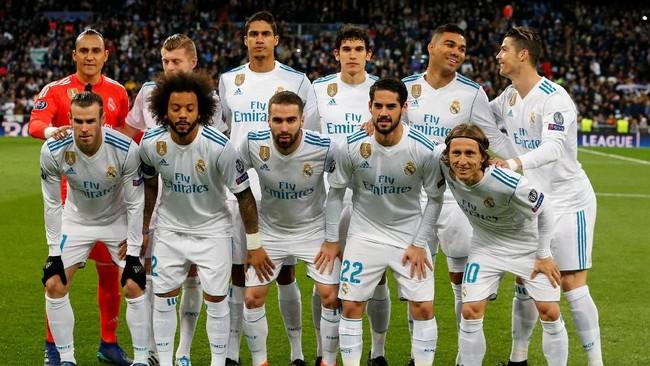 Kemenangan 3-0 pada leg pertama membuat Real Madrid difavoritkan melaju ke semifinal. (REUTERS/Paul Hanna)