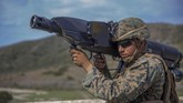 Marinir AS menggunakan sistem penangkap pesawat tanpa awak (drone) dalam Latihan Angkatan Laut ANTX18 di Camp Pendleton, California, Amerika Serikat, 20 Maret 2018. (Marine Corps/Lance Cpl. Cutler Brice/Handout via REUTERS)