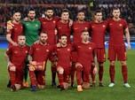 Saham AS Roma Anjlok Kena Profit Taking