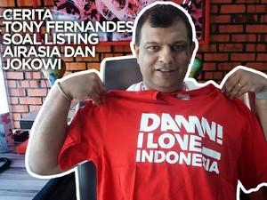 VIDEO: Cerita Tony Fernandes Soal Listing AirAsia dan Jokowi