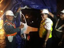 Kereta LRT Tiba di Palembang, Dikirim 6 Hari Lalu dari Madiun