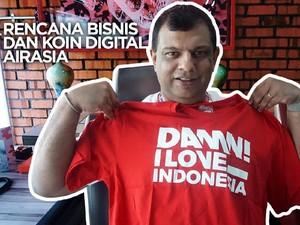 VIDEO: Rencana Bisnis dan Koin Digital AirAsia