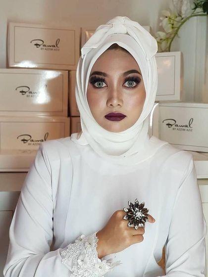 viral hijab asal malaysia yang terinspirasi dari pocong