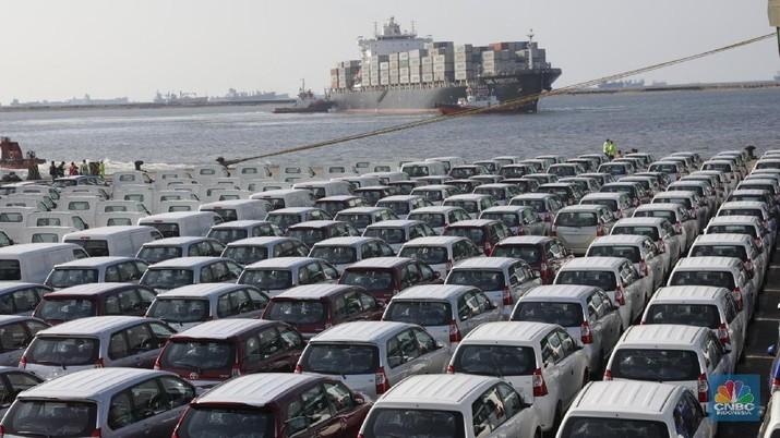 Ekspor Mobil RI Melaju di Semester I-2018