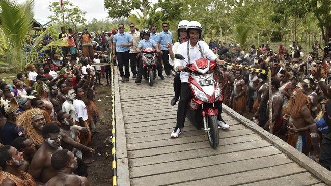 Spesifikasi Motor Listrik Jokowi di Asmat
