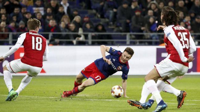 Hasil Undian Semifinal Liga Europa, Arsenal vs Atletico