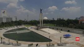 Revitalisasi Rampung, Lapangan Banteng Diresmikan 25 Juli