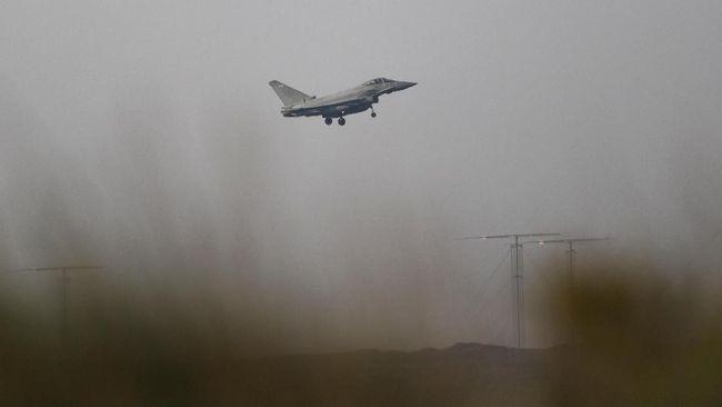 Jet Spanyol Tak Sengaja Tembak Rudal di Langit Estonia