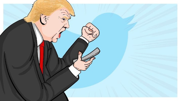 Kementerian Kehakiman AS akan mengajukan banding terhadap putusan hakim federal yang menyatakan Donald Trump tidak bisa mem-block pengguna Twitter dari akunnya.
