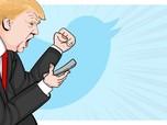 Pengadilan Larang Trump Block Follower, Pemerintah AS Banding
